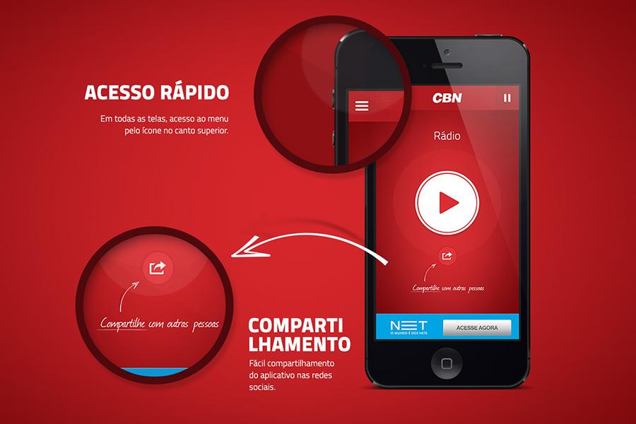 Aplicativo Rádio CBN