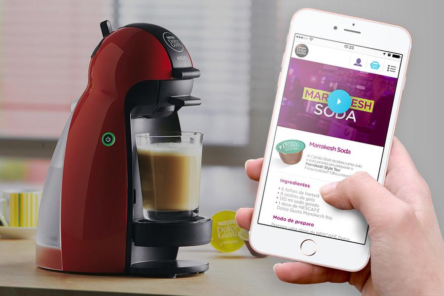 E-commerce Dolce Gusto Nescafé