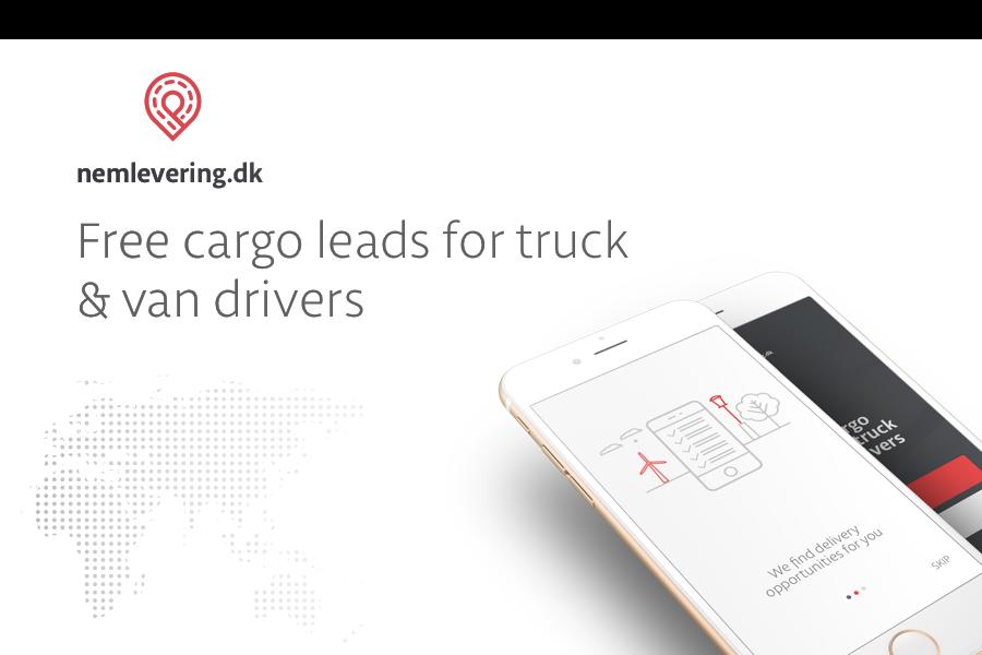 Aplicativo nemlevering.dk – Find a Cargo